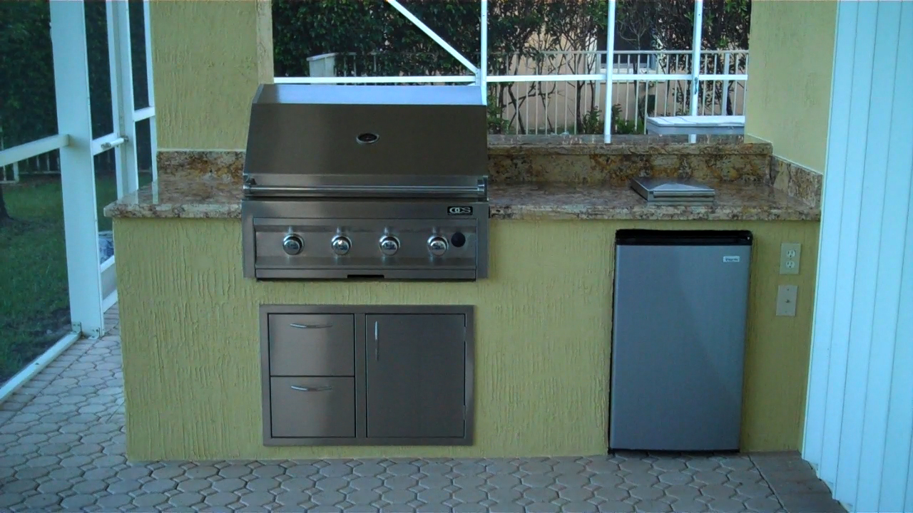 Outdoor Kitchen Ideas Gas Grill Photograph | built in ocs ga