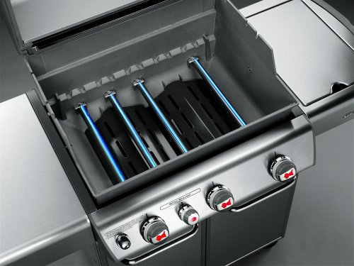 2011 Weber Genesis Models Have A New Sear Zone Blue Flame