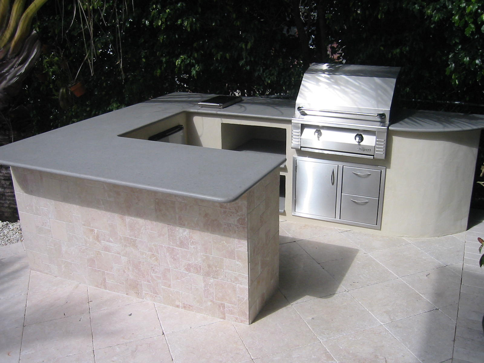 built in alfresco gas grill outdoor kitchen gas grills