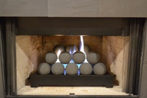 Ventless Gas Fireplace Installation Images From Customer