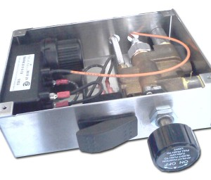 New Fire pit kit control box with safety valve and ignition module
