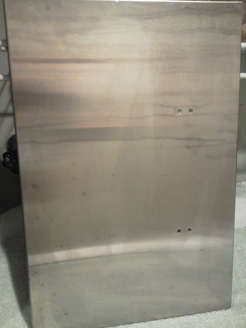 Clean Acid And Chemical Damage From Stainless Steel