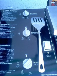 control knob setting to hold temperature