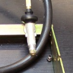 weber genesis spirit control valve on manifold with orifice