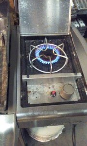 Weber Genesis Spirit Summit Side Burner Range Converted for LP or NG