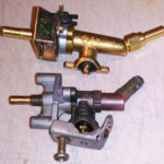 replacement gas control valve with ignition momentary integrated to valve stem