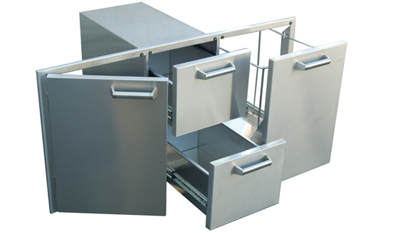 Built In Doors Drawers Trash Tilt Roll Out And Cooler For Custom