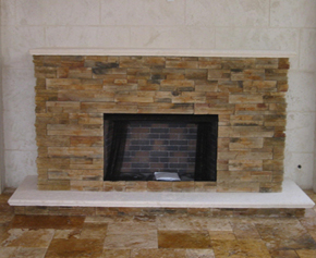 marble vent free fireplace stainless steel