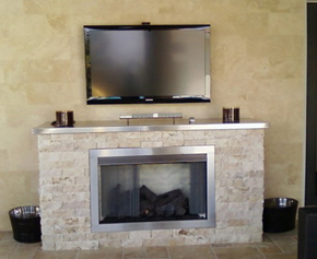 vent free outdoor fireplace