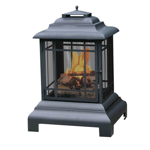 wood burning portable fire pit