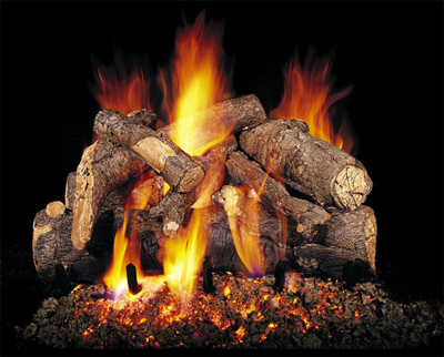 Vented Gas Logs. Vented gas log fireplaces with