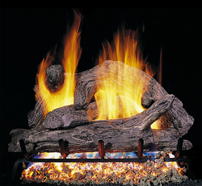 ... peterson real fyre driftwood gas log fireplace - FreE ShiPPing!! Vented Gas Log Fireplaces With Alternative Shapes