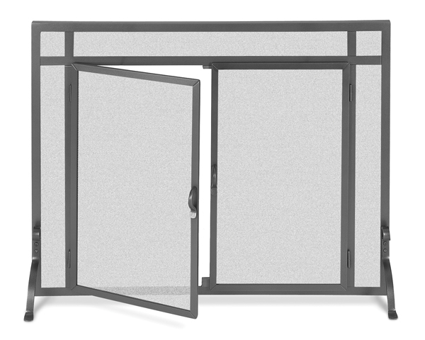 fireplace accessories screen iron door