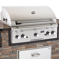 american outdoor grill 36 inch built in bbq grill