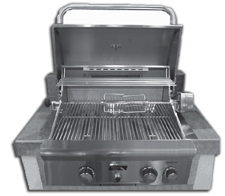 ... American Outdoor Grill Built In Outdoor Kitchen Grill Island