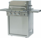 performance model profire 30 inch gas bbq grill