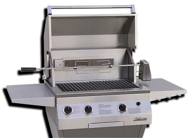 solaire infrared 27 built in gas grill
