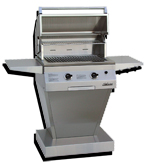 solaire infrared 27 inch gas grill head built in