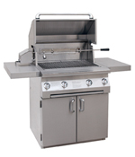 infrared gas grill built in