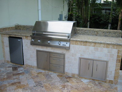 solaire outdoor kitchen with granite and time with 42 inch solaire infrared gas grill