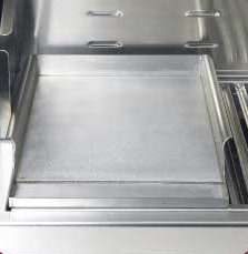 stainless griddle plate for infrared gas grilling