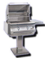 infrared gas grill solaire post