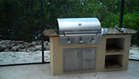 outdoor kitchen grill island aog 36 built in gas bbq grill