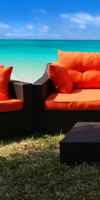 resin wicker outdoor furniture ocean