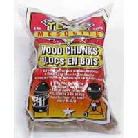 mesquite wood chunks for smoky barbeque flavor
