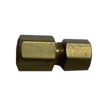 female pipe thread to 1/8 inch compression fitting for barbecue grill repair