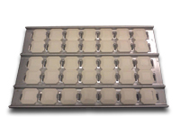 lynx heat shield briquette tray with briquettes and clips