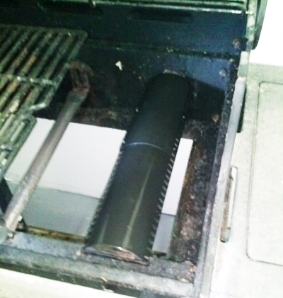 adjustable heat shield in bbq grillware model repair
