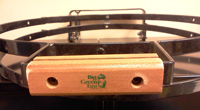 big green egg replacement spring assist band with hinge and handle