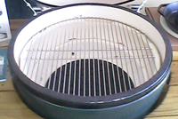 grilling grate stainless steel for large big green egg barbeque