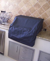 dcs gas grill cover built in bbq outdoor kitchen image