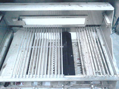 stainless replacement grate in bull bullit bbq grill model