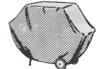vinyl gas barbeque grill cover
