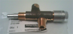 rotisserie safety valve