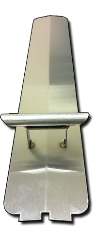 heat shield with cross over tube for dcs gas grill bbq repair