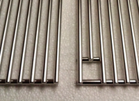 dcs stainless steel grilling grates close, 12 7/8-21.5