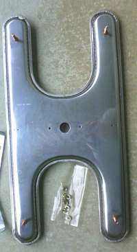 stainless steel replacement H burner