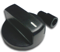 black adjustable universal control knob for bbq grill repair