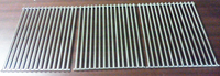 stainless steel replacement cooking grill grids for lazyman 210-40 model