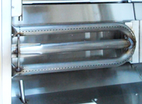stainless U shaped burner