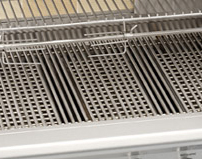 oci stainless steel burner cooking grate section