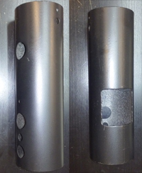 charmglow mounting post grill parts
