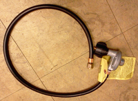 40 inch hose and lp regulator