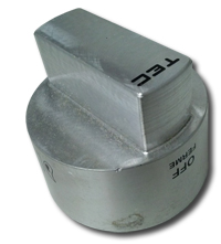 stainless TEC infrared knob