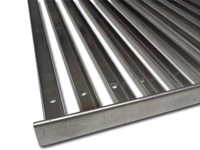 Stainless U channel grate for TEC infrared grill