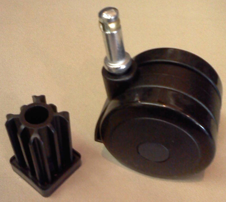 Replacement Weber Rotating Caster Wheel With Lock And